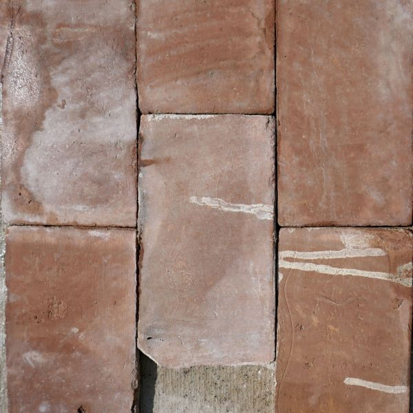 Reclaimed terracotta tiling from Provence on sale at Alain BIDAL