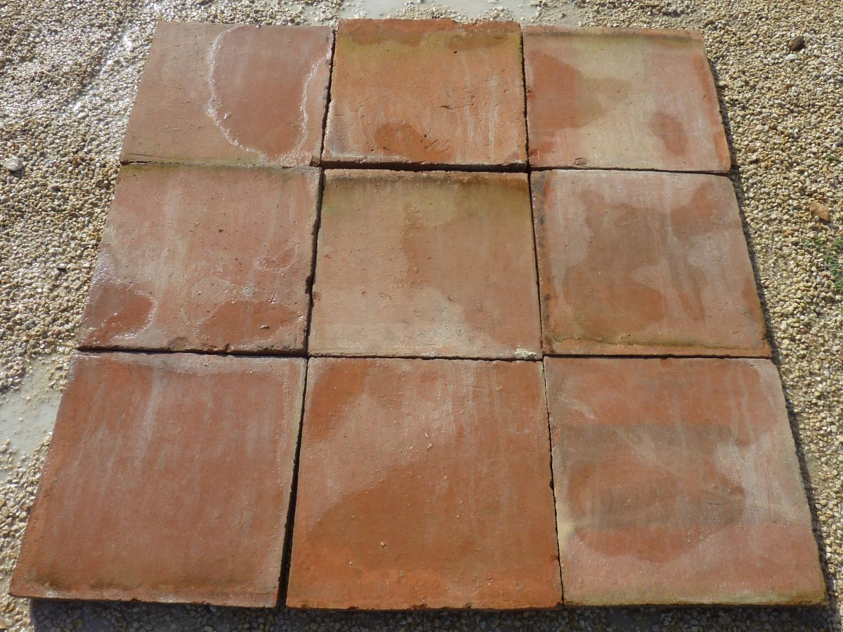 Reclaimed Terra Cotta flooring