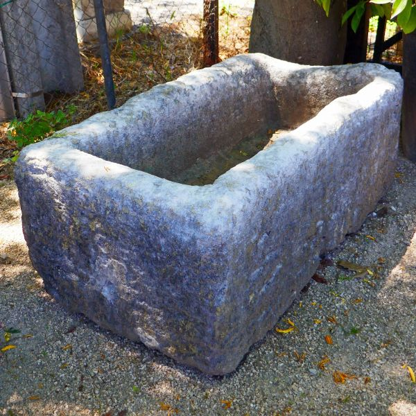 This thick old stone trough is part of our wide range of stone troughs for garden.
