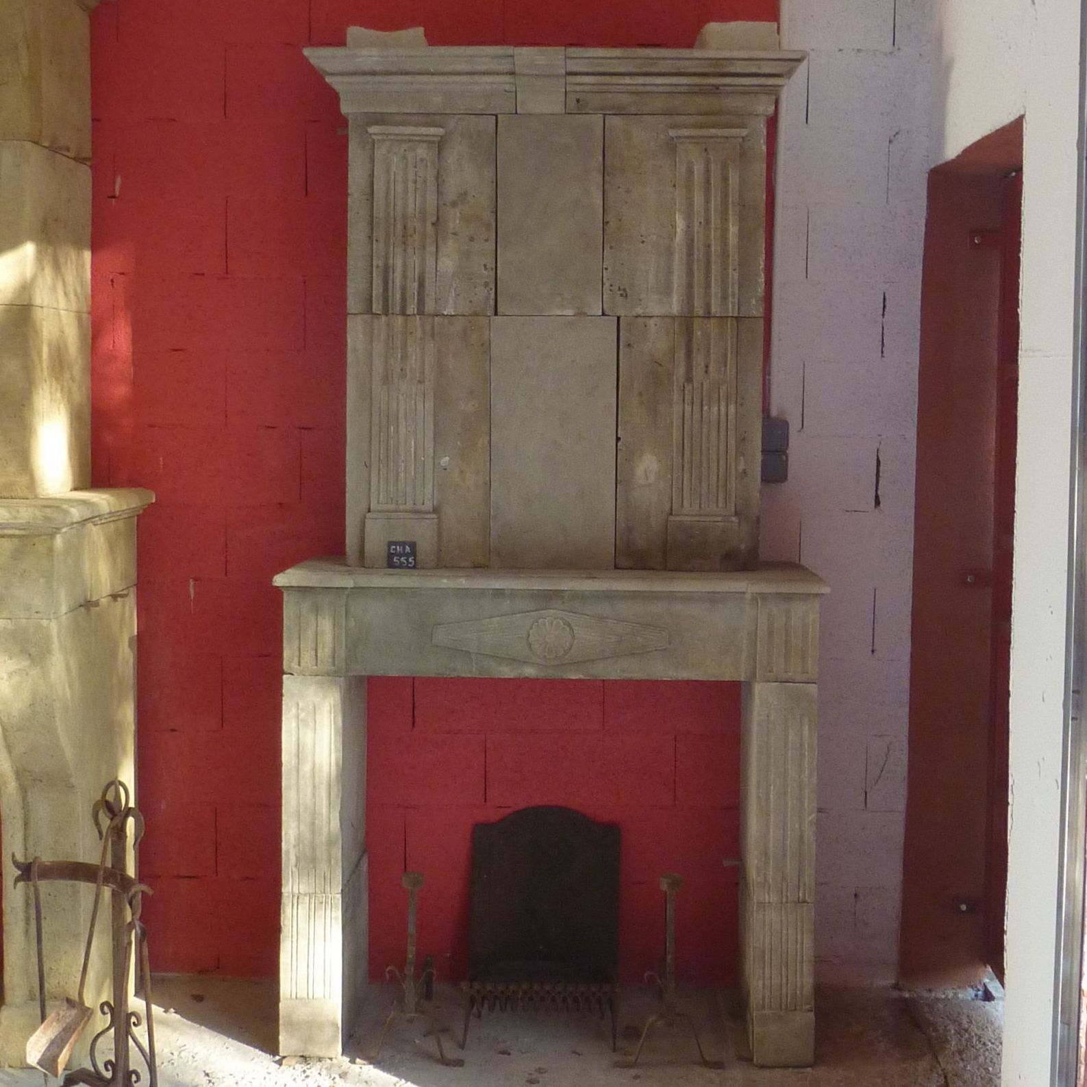 Louis XVI fireplace to decorate a bedroom for example.