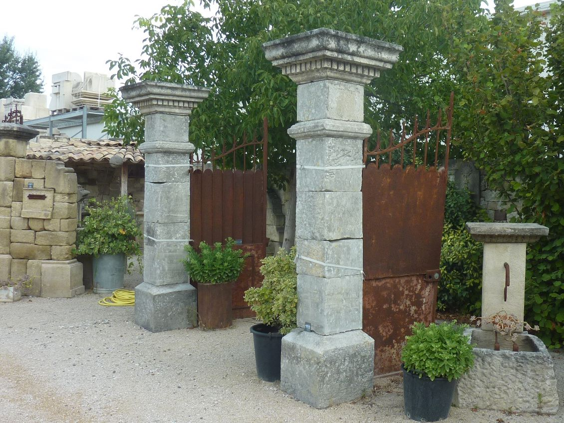 Antique pillars & columns